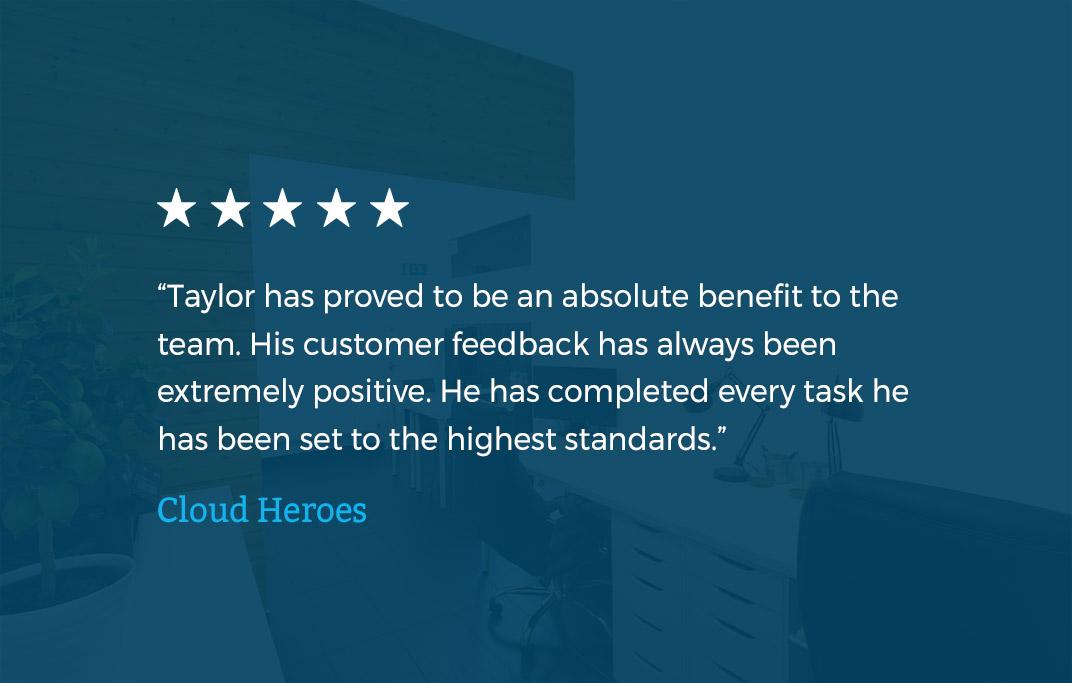 Cloud Heroes Testimonial