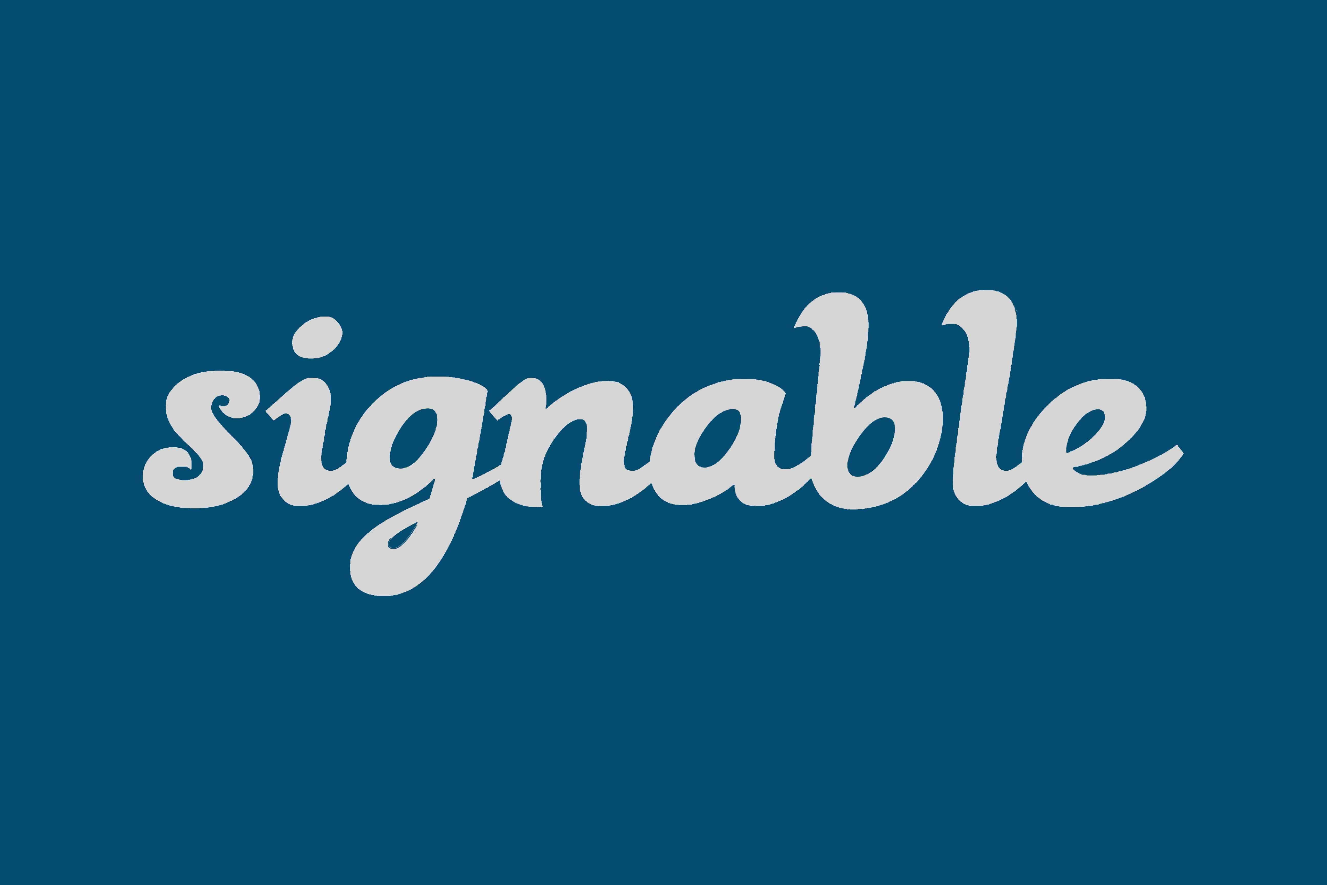 Signable